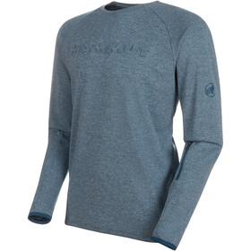 Mammut Crashiano Longsleeve Shirt Men wing teal melange